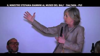 Embedded thumbnail for Ministro Giannini al Museo del Balì